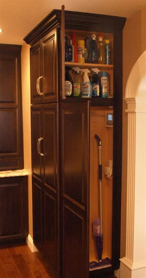 Kitchen Pantry Storage Cabinet Broom Closet by 19 Best Broom Closets Images On Home Laundry