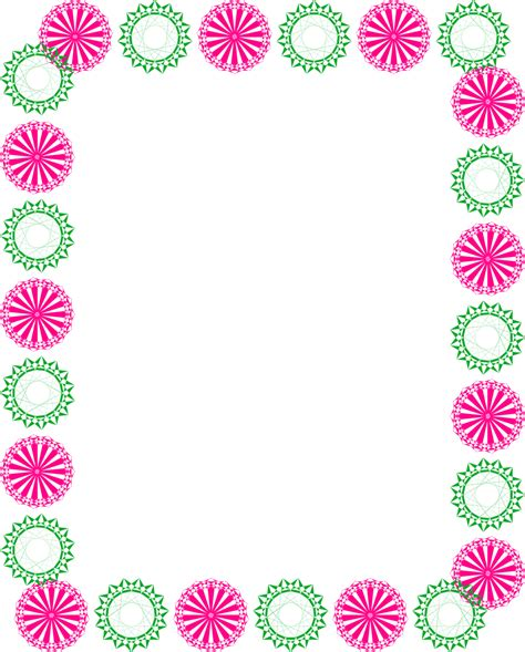 Border  Free Stock Photo  Illustration Of A Blank Frame