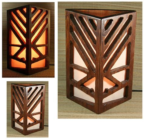 tiki bar table l wall sconce light by tikizone on