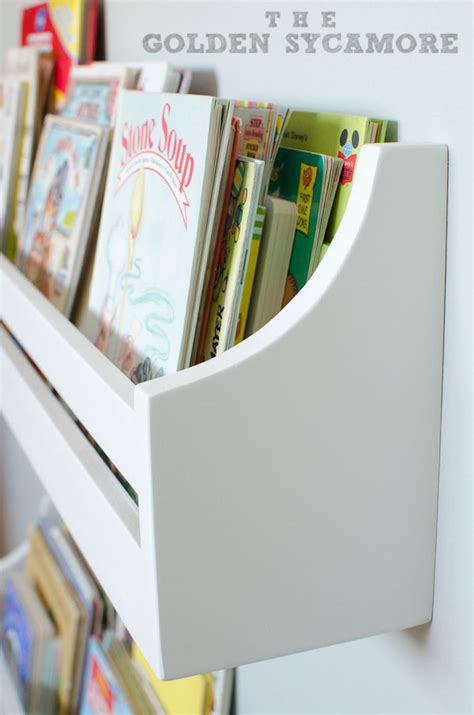Childrens Bookcase by Wall Mounted Bookshelves The Golden Sycamore