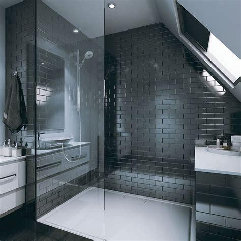 bathroom clad  tile wall panel range brick bevelled