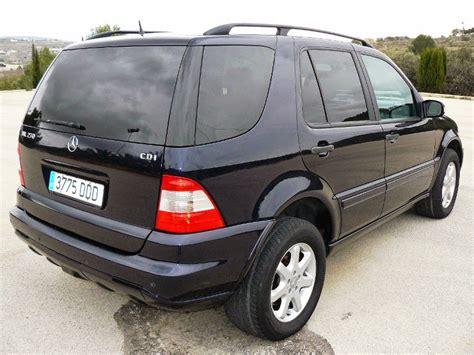 Vind fantastische aanbiedingen voor mercedes 270cdi. 2003 MERCEDES ML 270 CDI AUTOMATIC DIESEL 4 X4 SUV (W163) €7995 - Car Sales Costa Blanca