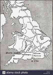England Road Map Stock Photos  U0026 England Road Map Stock