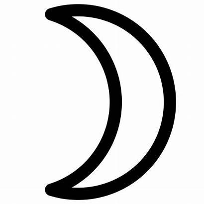 Moon Crescent Svg Symbol Symbols Sign Wikipedia