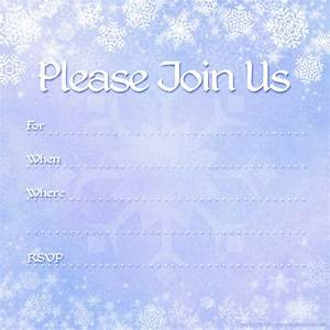 free printable party invitations free winter holiday With inviation templates