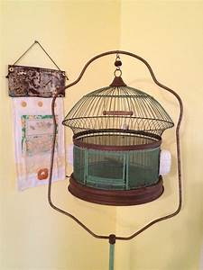 Threads In Time by Pallas: Antique Bird Cage