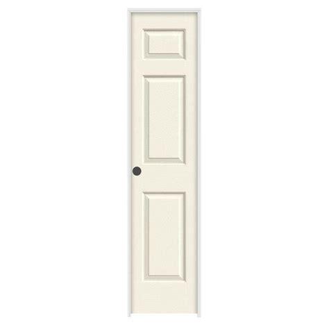 home depot prehung interior doors jeld wen 18 in x 80 in molded textured 6 panel