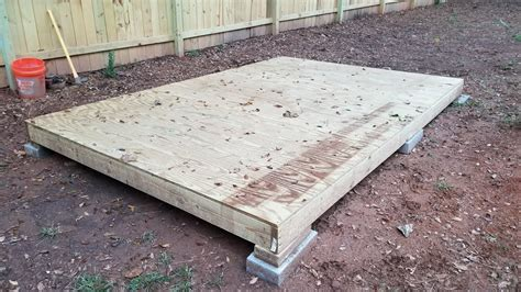 how to level a shed building a shed on a budget part 2 building the floor