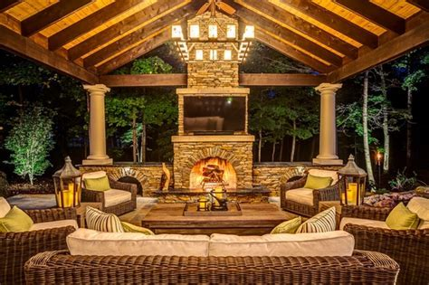 Rustic outdoor lighting ideas for your rustic porch and
