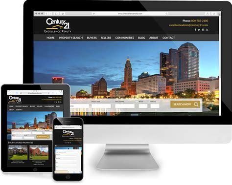 columbus ohio real estate website design