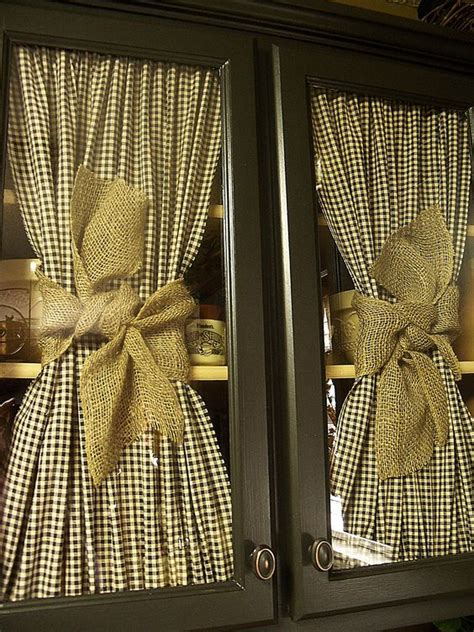 love the checked fabric burlap ribbon really like the