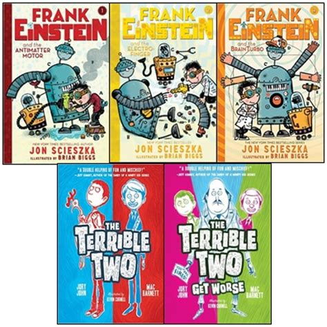 Frank Einstein And The Terrible Two Chatterbooks Pack