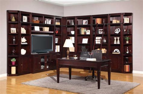 library wall units bookcase parker house boston library bookcase wall unit set a ph