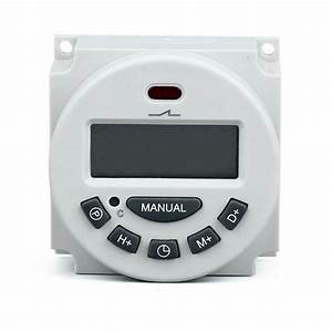 Digital Lcd Relay Switch Weekly Programmable Electronic