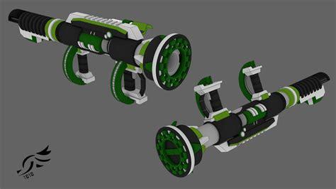 oculus epitome rwby oc weapon youtube