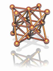 Copper Crystal Structure Photograph By Laguna Design