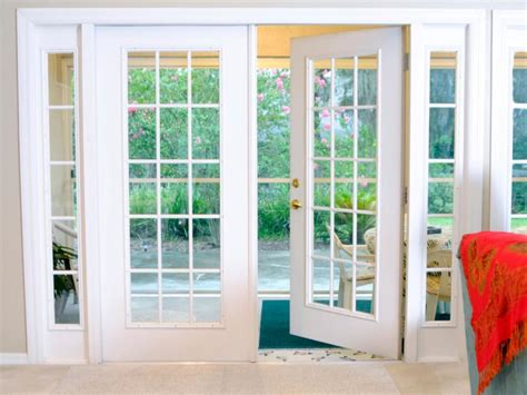 doors appealing white rectangle modern glass patio
