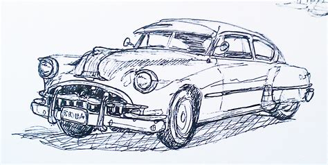 Sketching at Fort Paull, Classic US Car Rally – 24/04/2011 ...