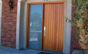 Porte D Entrée En Bois Moderne : portes bourassa porte d 39 entr e en bois style moderne 013 ~ Nature-et-papiers.com Idées de Décoration