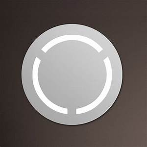 miroir de salle de bain avec eclairage maison design With miroir rond salle de bain avec eclairage