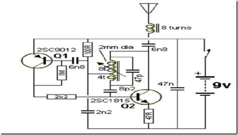 Radio Circuits Blog Mhz Transmitter Without Crystal