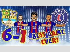 BARCA 61 PSG! THE BEST COMEBACK EVER! Barcelona complete