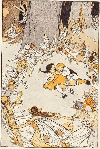 Illustrations Chase Rhoda Campbell Hansel Gretel Tale