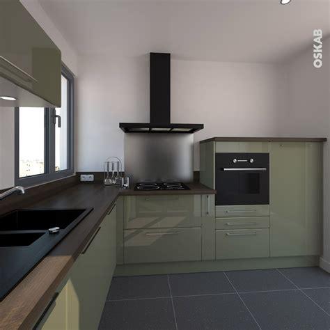 cuisine blanche plan de travail bois cuisine blanche design meuble iris blanc brillant