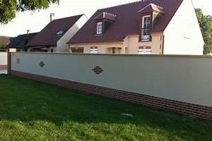 Prix Mur Parpaing Cloture : prix cloture maison cloture decorative pour jardin idmaison ~ Dailycaller-alerts.com Idées de Décoration