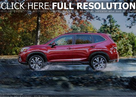 Subaru Forester 2020 Release Date by 2020 Subaru Forester Release Date And Price Auto Suv 2018