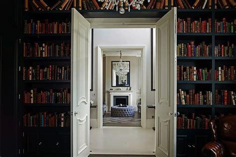 Built In Bookshelves  Transitional Denlibraryoffice