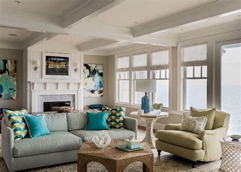 coastal living room transitional coastal living room with