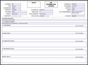 pin 8d report template in excel reports example g8d re on With 8d form template