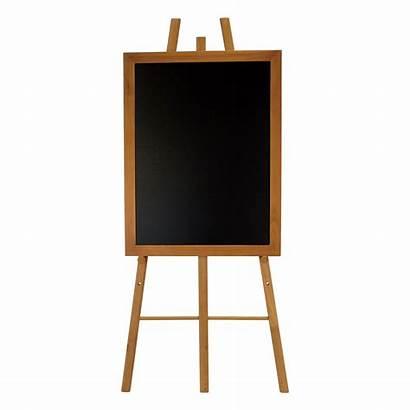 Easel Chalkboard Hardwood Teak Larger Se Version