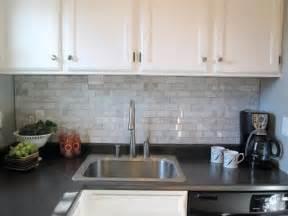 Marble Kitchen Countertops with Backsplash