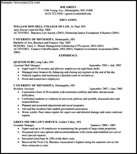 corporate lawyer resume sle templates