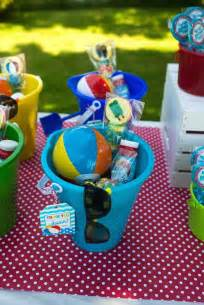 baby shower party favors splish splash pool party bash