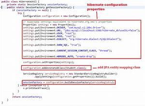 Hibernate 5 Java Configuration Example