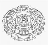 Beyblade Coloring Pages Burst Template Gabriel sketch template