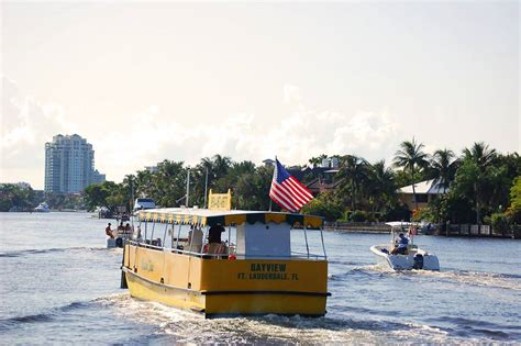 Taxi Boat Fort Lauderdale by Fort Lauderdale Water Taxi Las Olas Boulevard