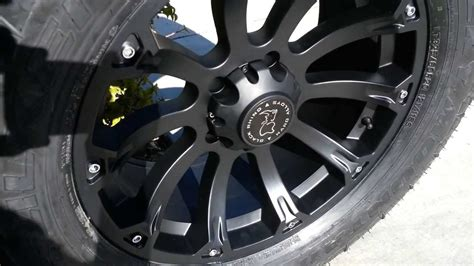 black rhino sidewinder wheels  youtube