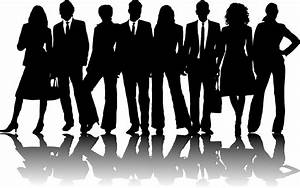 Business Group Silhouette Clipart #2008727