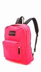Lyst - Jansport Black Label Superbreak Backpack in Pink ...