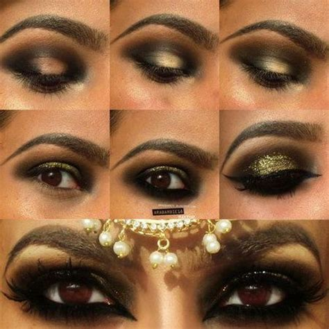 Best Arabic Make Up Images On Pinterest Make Up Looks Pretty Eyes And Arabian Makeup