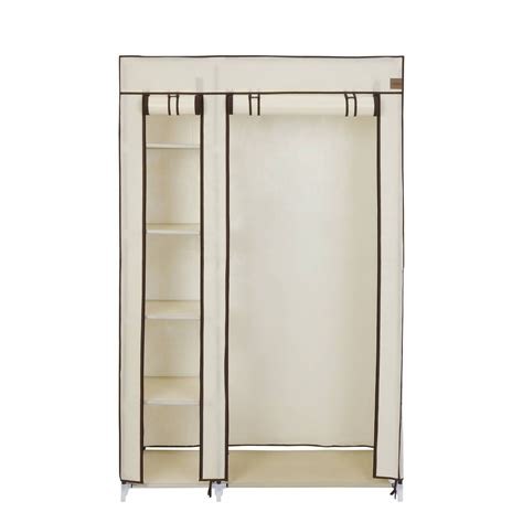2018 Latest Double Clothes Rail Wardrobes
