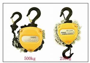 Factory Supply Portable Mini 250kg Manual Hoist Small