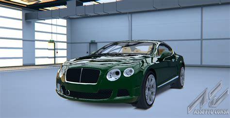 bentley racing green bentley continental gt bentley car detail assetto