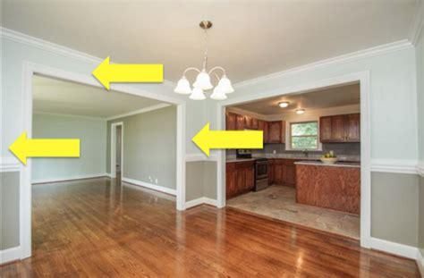how to remove a load bearing interior wall removal is this wall load bearing home improvement