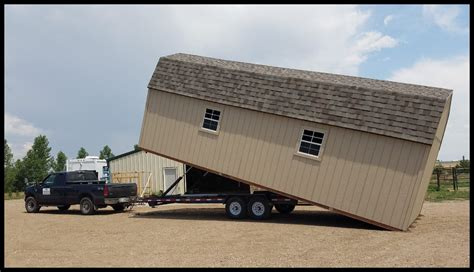 Mule 4 Shed Mover by Colorado Shed Movers