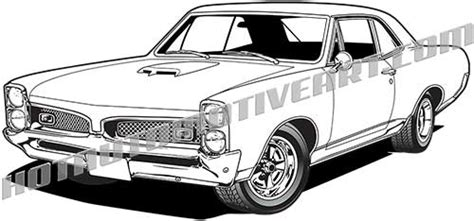 Pontiac Gto Judge Coloring Coloring Pages